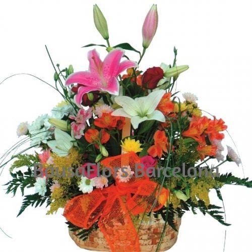 Cesta de Flores regalo