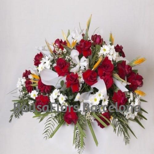 funerario rojo