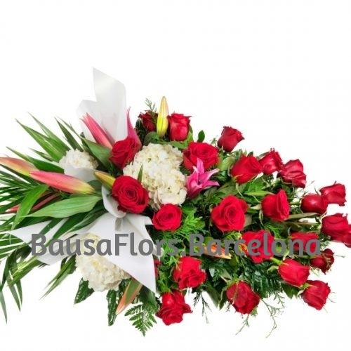 Palma Funeraria Roja