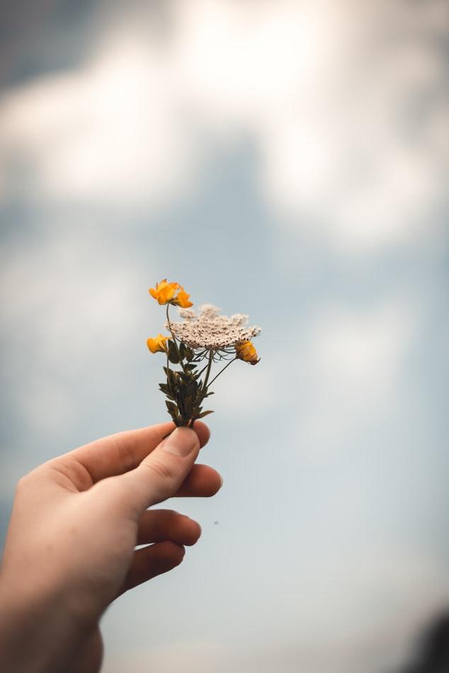 pequeño ramo en funeral Bausa Flors